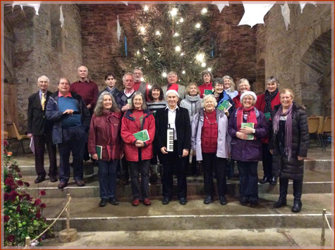 Mount Kelly Choral Society at Buckland Abbey - Christmas 2015