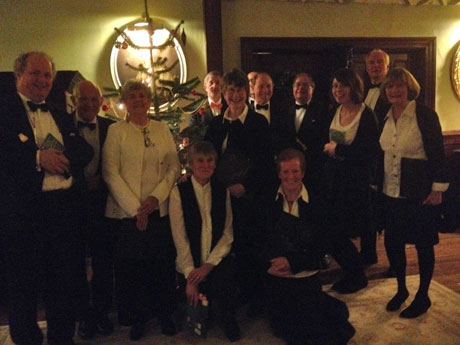 Christmas Eve at Lewtrenchard